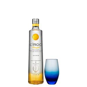 COMBO VODKA CÎROC Pineapple 750ml + Copo de Vidro  300 ml
