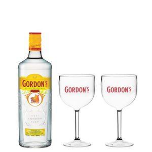 Combo Gordon's Elderflower 700ml + 2 Taças Gordon's