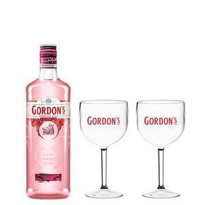 Combo Gordon's Pink  700 ML + 2 Taças Gordon's