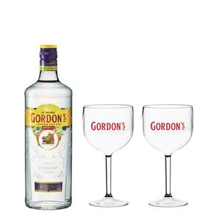 Combo Gordon's  750 ML + 2 Taças Gordon's
