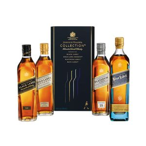 WHISKY JOHNNIE WALKER THE COLLECTION PACK - 200ml