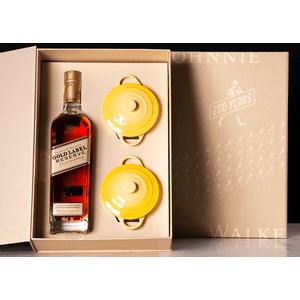 THEBAR.BOX: GIFT JOHNNIE WALKER GOLD LABEL E LE CREUSET