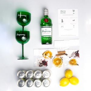 THEBAR.BOX:GIN & TONIC TANQUERAY LONDON DRY