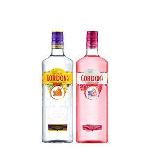 COMBO GIN GORDON'S 750ml + GIN GORDON'S Pink 700ml