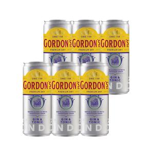 Combo 6 Gin Gordon's London Dry & Tonic - 269ml | The Bar
