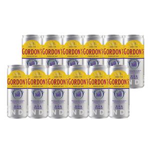 Combo 12 Gin Gordon's London Dry & Tonic - 269ml
