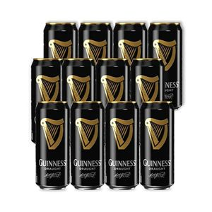 COMBO CERVEJA GUINNESS DRAUGHT IN CAN 440ml 12 unidades