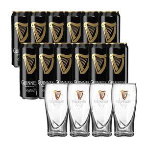 12 Cervejas Guinness  +  4 pints