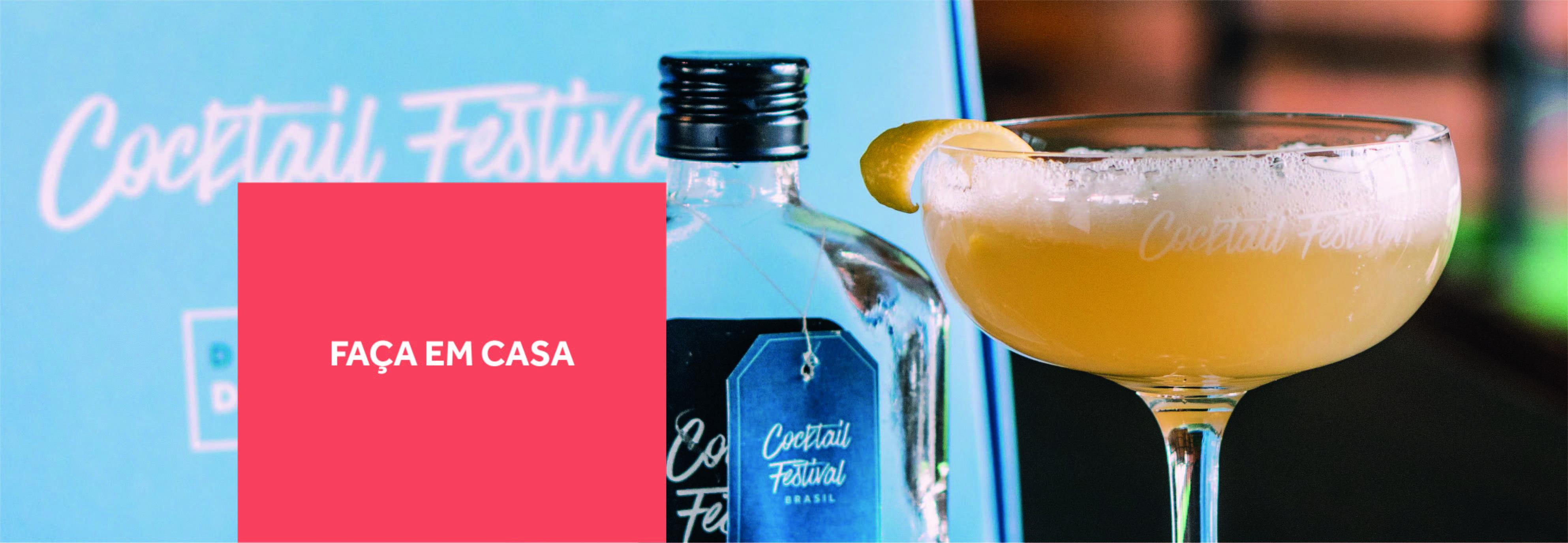 Cocktail Festival - Faça em casa