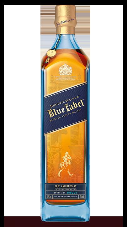 Blue label limited edition design