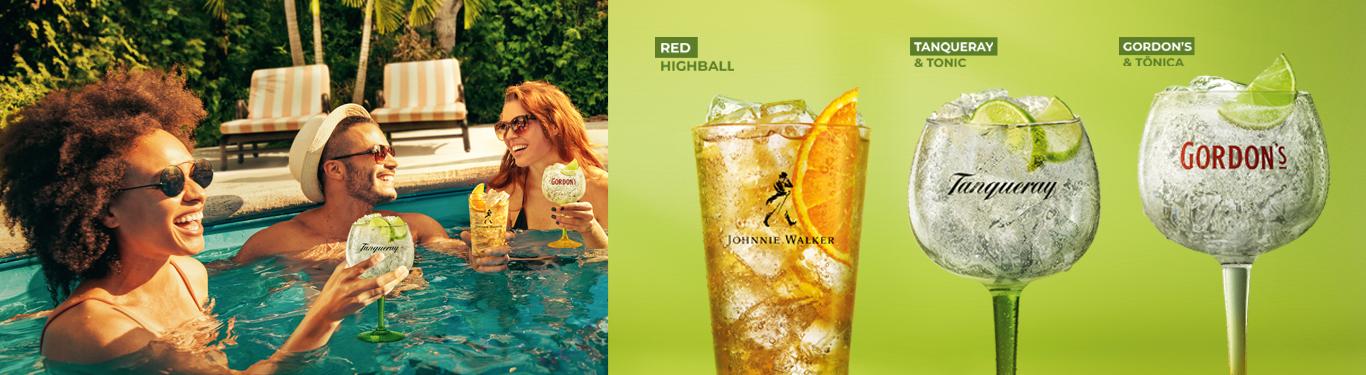 Banner drink default
